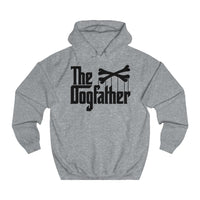 The Dogfather - Unisex College Hoodie