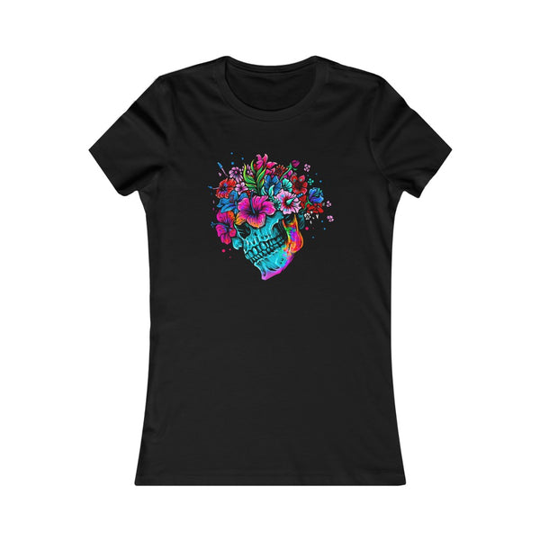 Flower Skull Women's Favorite Tee