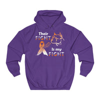 Their Fight Is my Fight - Unisex College Hoodie