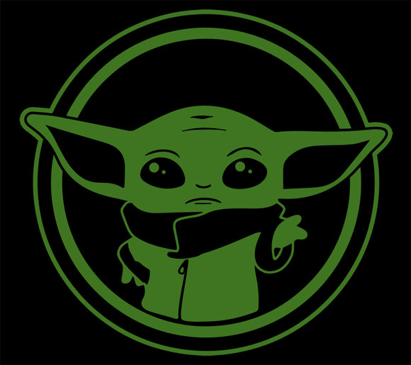 Baby Yoda - Solid Color