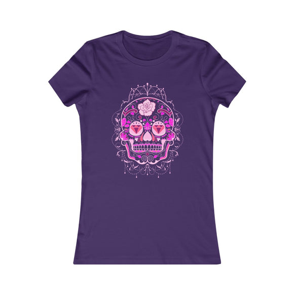 Sugar Skull Women's Favorite Tee