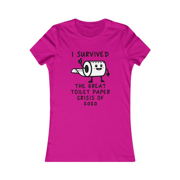 2020 CRISIS Women's Favorite Tee (Printed in Canada)