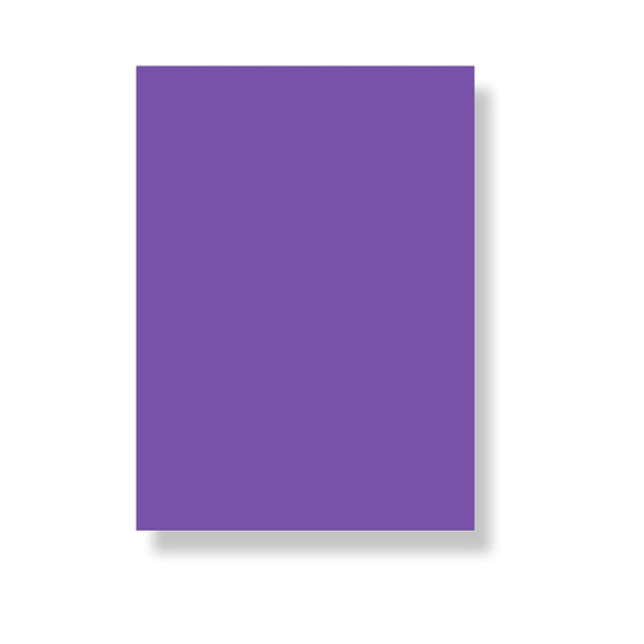 Chart Paper No-10 Purple
