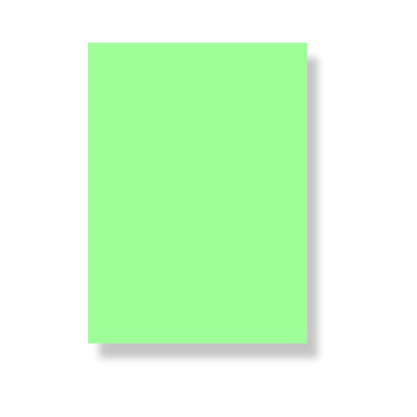 Chart Paper No-03 Light Green