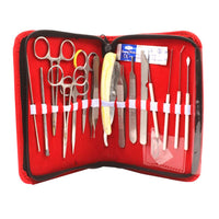 Surgical Instruments Kit for Students, Dissecting Kit of 17 pieces