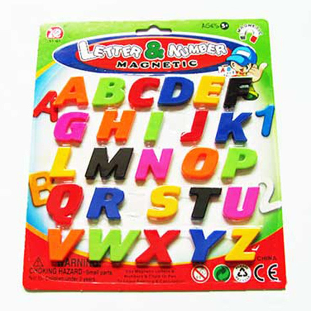 Letter & Number Small English Small Alphabets