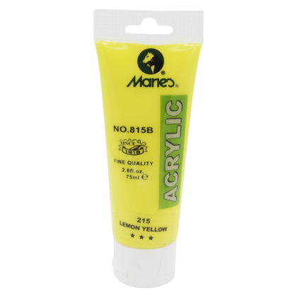 Maries Acrylic Tube 215 Lemon Yellow