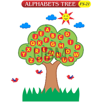 Alphabets Tree Fs-21 Colored