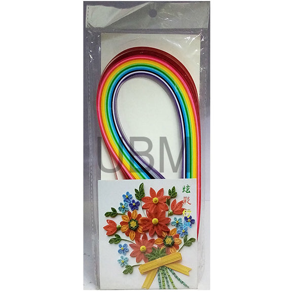 Quilling Paper Multi Colour Large