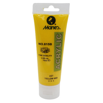 Maries Acrylic Tube 227 Yellow Mid