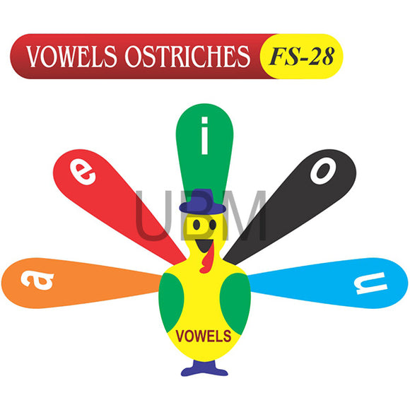 Vowels Ostriches Fs-28