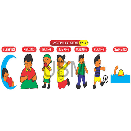 Activity Kids Fs-41 Coloured