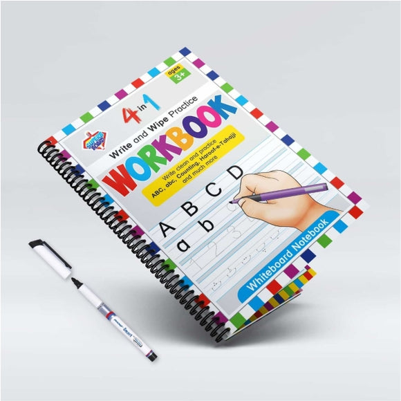 White Board Book 4 In 1