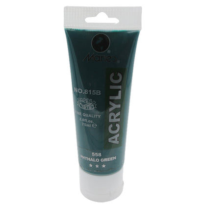 Maries Acrylic Tube 558 Phthalo Green