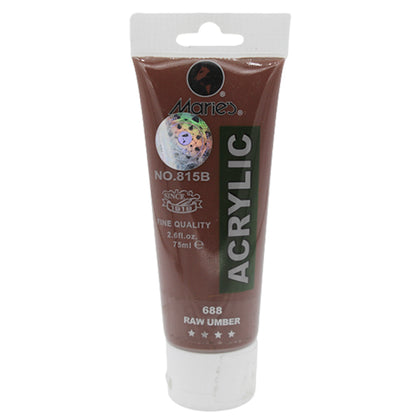 Maries Acrylic Tube 688 Raw Umber