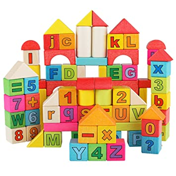 Wooden Toy Blocks Qzm # 773