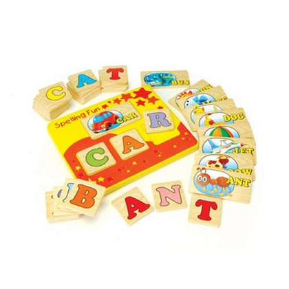 Wooden Toy Alphabet Puzzle  #142 (41Pcs)