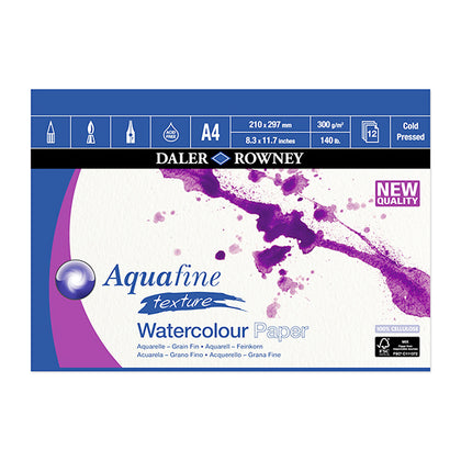 Aquafine 20 X28 Water Colour Sheet H.P 300 grams.