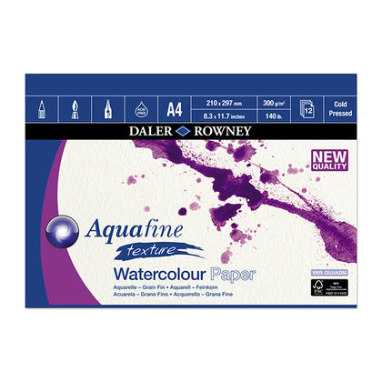 Aquafine Pad 12 Sheets 16 x12 300grams CP