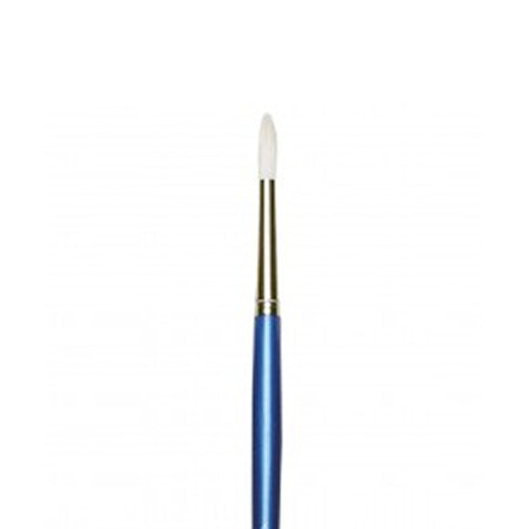 BRISTLE WHITE B-24 ROUND OIL COLOUR BRUSHES 4