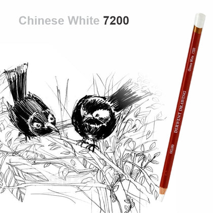 Drawing Pencil Chinese White NO.7200-Derwent (34392)