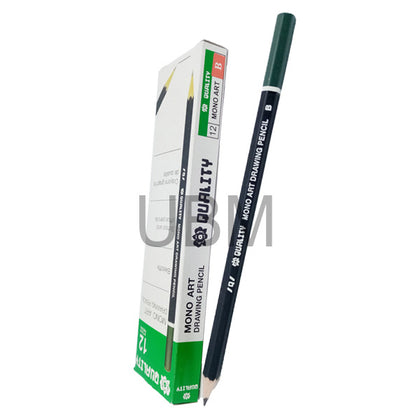 Quality Monoart Degree Pencil B (1pcs)