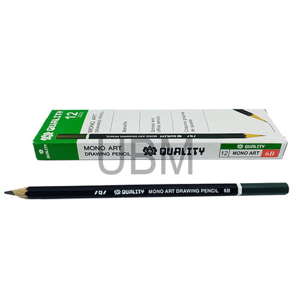 Quality Monoart Degree Pencil B-6 (1pcs)