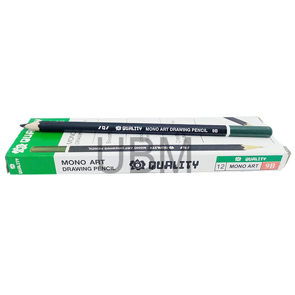 Quality Monoart Degree Pencil B-9 (1pcs)