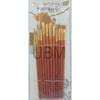 Paint Brush # 8818-6 (12Pcs) Brown