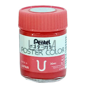 Poster Color 11 Red Pental