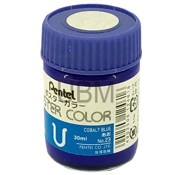 Pentel Poster Colour 23 Cobalt Blue