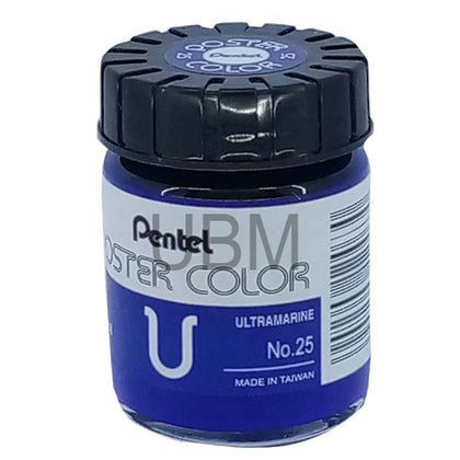 Pentel Poster Colour 25 Ultra Marine