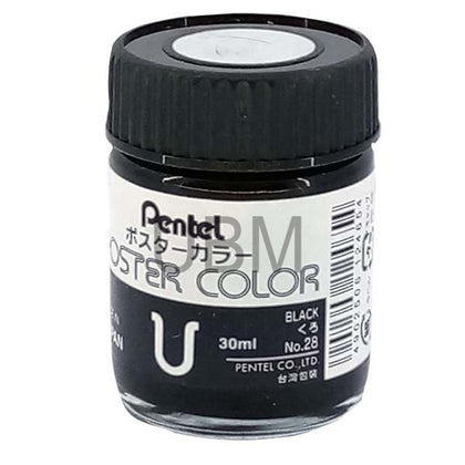 Pentel Poster Colour 28 Black
