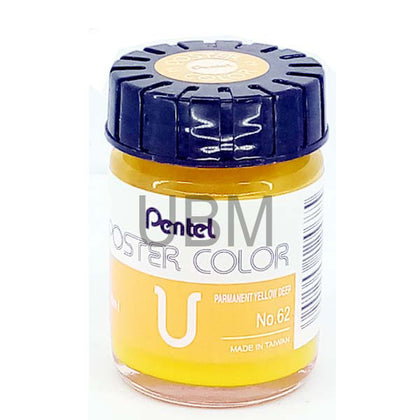 Pentel Poster Colour 62 Yellow Deep