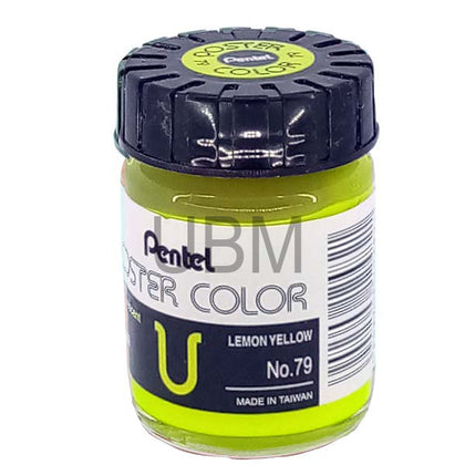 Pentel Poster Colour 79 Lemon Yellow