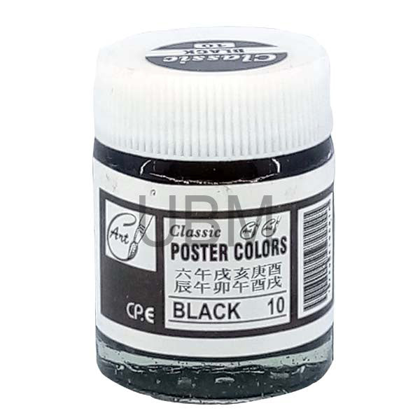 Poster Color 10 Black Classic