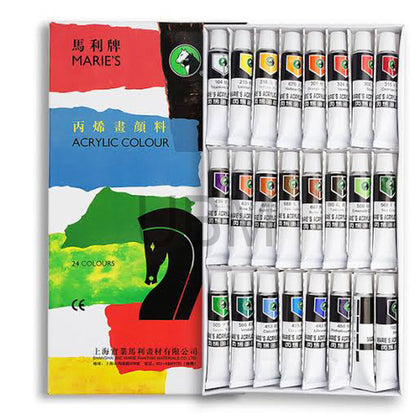 Maries Acrylic Color 24Pcs No.824