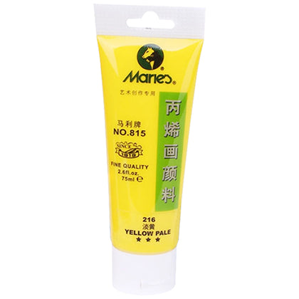 Maries Acrylic Tube 216 Yellow Pale