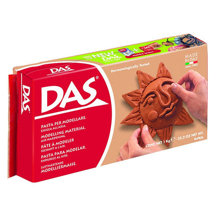 FILA Das Air Dry Modelling Clay Terracotta 1kg