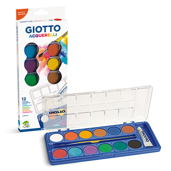 FILA Giotto Watercolor 12 set
