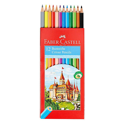 Faber-castell Classic Colour Pencils 12 Full