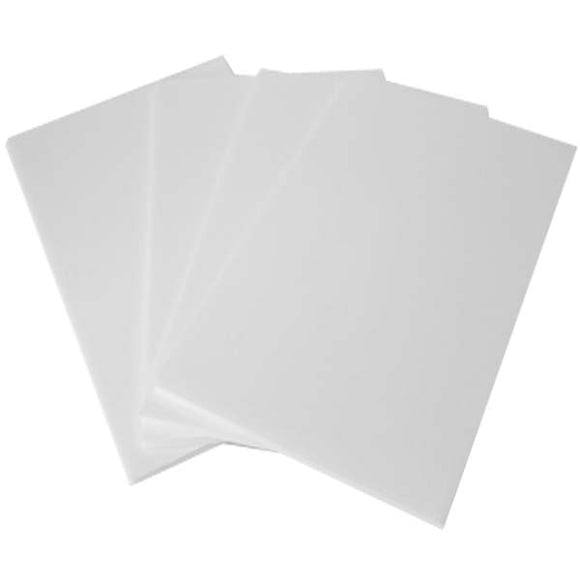 Foaming Sheet Simple A/4 - White