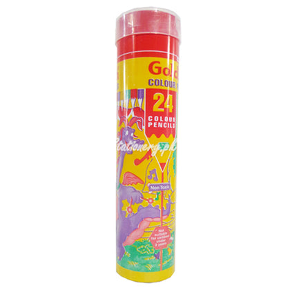 Goldfish Colour Pencil Can 24Pcs