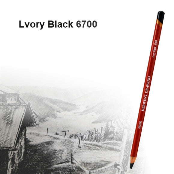 Drawing Pencil Lvory Black NO.6700-Derwent (34391)
