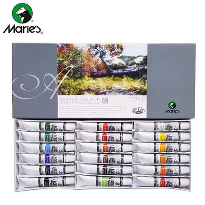 Maries Acrylic Colour 18Pcs 818B
