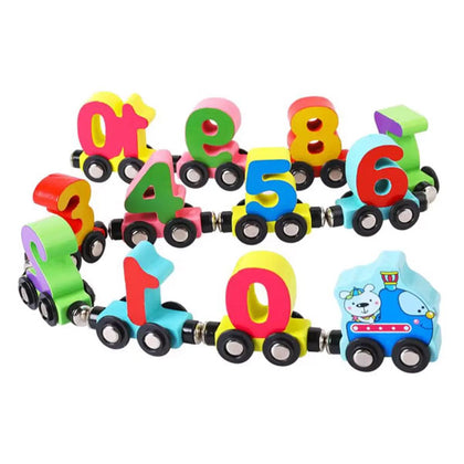 Magnetic Digital Train for Kids