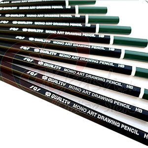 Monoart Degree Pencil B-9 1pcs