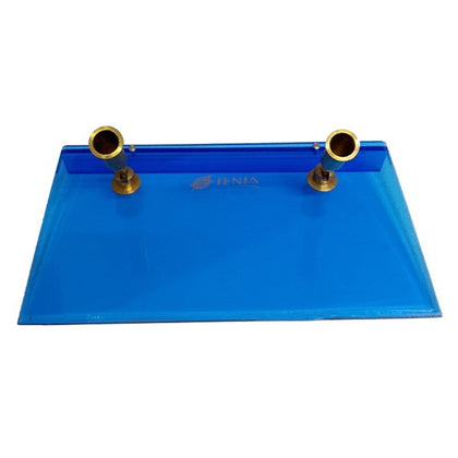 Pen Holder Metal Blue