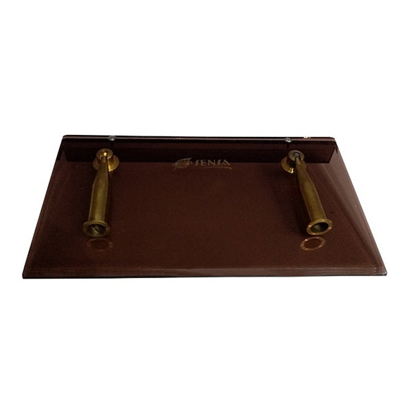 Pen Holder Metal Brown
