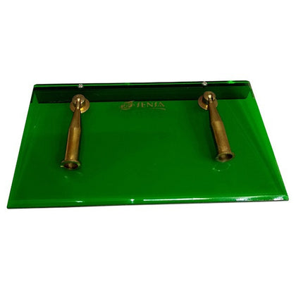 Pen Holder Metal Green